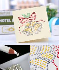 craft buddy crystal card making kit 5d diamond painting card