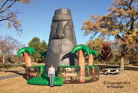 island party rentals tiki island rock climbing wall interactive