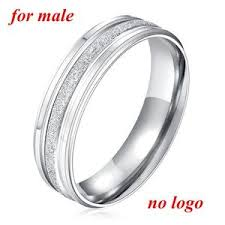 stainless steel wedding bands rings stainless steel wedding rings engrave name rings for