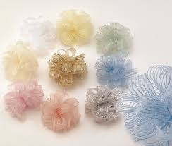 pull ribbon corsage pull ribbon