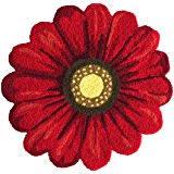 amazon com super soft area rug modern rose flower shaped cozy