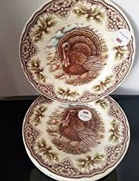spode woodland turkey dinner plate spode woodland