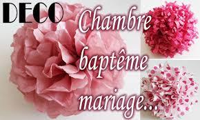 fleurs dans une chambre tuto déco clair fleur papier soie chambre baptême mariage