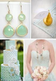 april wedding colors soft mint and sparkling gold a wedding color story
