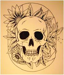 skull drawing images at getdrawings com free for personal use
