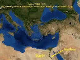 Nile River On Map Bob Gardner U0027s