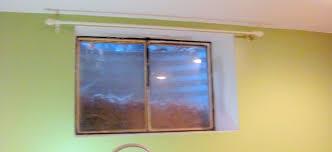 Basement Window Curtains Basement Window Curtains Rental House And Basement Ideas