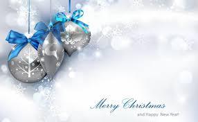 silver christmas christmas background
