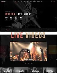 25 latest music joomla templates free u0026 premium web creative all