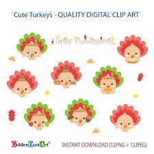 20 sale turkey clipart thanksgiving clipart happy