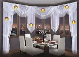 Images Of Curtain Pelmets Choice Of Swags U0026 Tails Net Sheer Curtain Swag Pelmet Valance