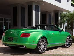 green bentley 2014 bentley continental gt gtc speed