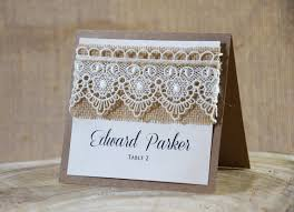Place Cards Wedding Rustic Place Cards Lace Place Cards Escort Cards Wedding Place
