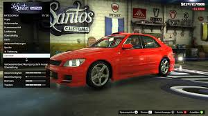 custom lexus is300 grand theft auto v lexus is 300 tuning youtube