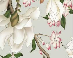 Magnolia Wallpaper by Online Shop Beibehang Modern Home Decoration 3d Wallpaper Hand