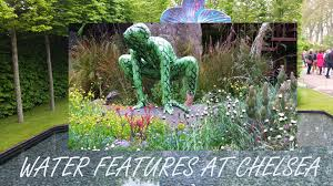 fountains ponds and garden water features at the 2013 chelsea