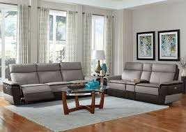 Leather Power Reclining Sofa Power Recliner Sofa Top Grain Leather