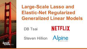 elastic nets 2015 06 15 large scale elastic net regularized generalized linear mod