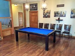chairs for convertible pool tables dining room pool tables by