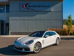 porsche panamera blue 2018 porsche panamera sport turismo first review kelley blue book