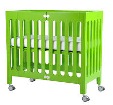 Alma Bloom Mini Crib Bloom Alma Mini Crib Frame Gala Green Bloom