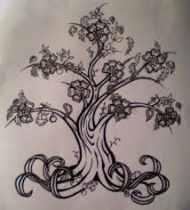 family tree tattoo designs all about flower tattoos for girls