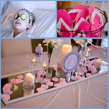 spa decorations cosca org exceptional 4 little party ideas loversiq