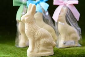 white chocolate bunny 6 oz white chocolate rabbit