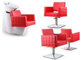 Shampoo Chair For Sale Cuisine Modern Hair Chair With Chrome Elbow Brackets Capelli