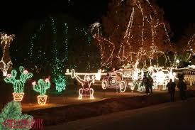 Chickasha Lights Festival Of Light In Oklahoma Is One Of The Top Ten Light Displays