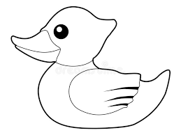 bath duck stock illustration image of sweet sketch 59175351