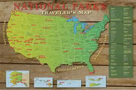National Parks Us Map Diy Us National Parks Push Pin Travel Map Kit Push Pin Travel Maps