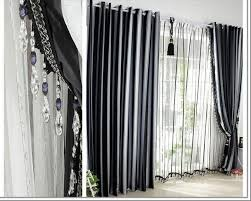 Black White Gray Curtains Home Decor There Are Many Types Of Black And Gray Curtains