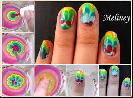 25 best ideas about water marble nail art on pinterest nail water