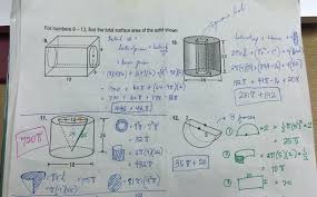grade 11 surface area worksheet answer key u2013 ateneo high