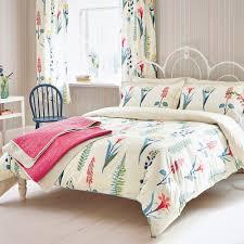buy sanderson floral bazaar duvet cover amara