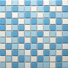 2017 swimming pool tiles ceramic mosaics white blue backsplash