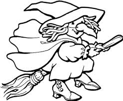 halloween line drawings witch coloring page witch face coloring page halloween for kids