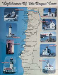 Map Of Oregon Coast by Image Result For Oregon Coast Lighthouse Map Coastal Camping