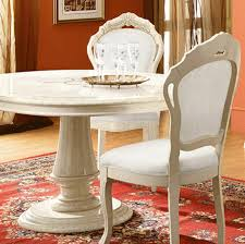 Italian Lacquer Dining Room Furniture Rossella Dining Room Italian Lacquer White Ivory High Gloss