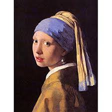 painting the girl with the pearl earring girl with a pearl earring print poster