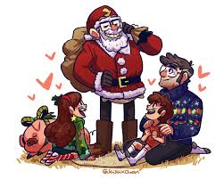 Mabel Dipper Halloween Costumes Gravity Falls Merry Christmas Springkiwi Deviantart
