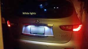 infiniti qx56 license plate light infiniti door lights u0026 door light refit car stickers radium shoots