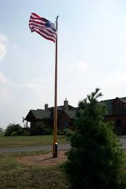 wooden 20 40 flagpoles etc