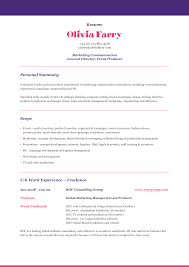 Best Resume Profiles by A Good Resume Summary Summary Profile Resume Sample Of Resume