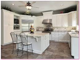 kitchen cabinets off white cabinets with dark backsplash small
