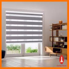 curtain rail blinds decorate the house with beautiful curtains