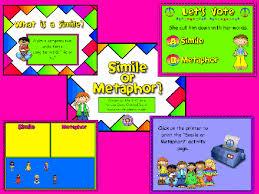 simile or metaphor flipchart promethean activinspire activboard