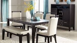 dining room set with bench marvelous dining room sets bench seating decor ideas and of set