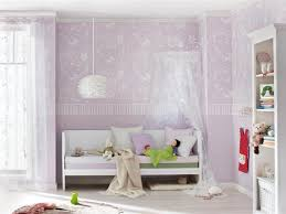 wandgestaltung mädchenzimmer himmelbett im mädchen kinderzimmer wandgestaltung